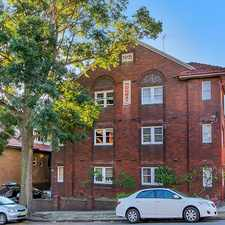 Rental info for Furnished One Bedroom in the Randwick area