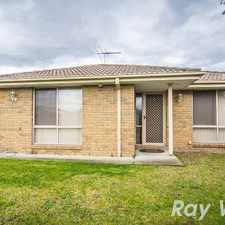Rental info for LOW MAINTENANCE HOME in the Cranbourne North area