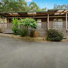 Rental info for Blissful Family Living in Bushland Oasis in the Upper Ferntree Gully area