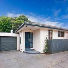 Rental info for MODERN AND LOW MAINTENANCE VILLA in the Oakleigh South area