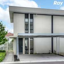 Rental info for PERFECT 2 BEDROOM TOWNHOUSE! in the Melbourne area