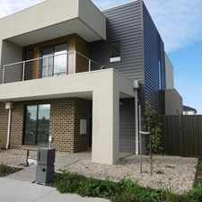 Rental info for Brand New 3 Bedroom Family Home! in the Melbourne area