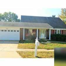 Rental info for House for rent in Ballwin.
