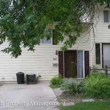 Rental info for 607 Meadow Place