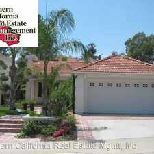 Rental info for 24426 Firenze Place