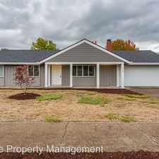 Rental info for 1720 NW Highland Drive in the Corvallis area