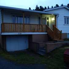 Rental info for Sunny 2 Bdr + Den. Large yard in the St. John's area