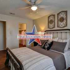 Rental info for Barclay St. in the San Antonio area