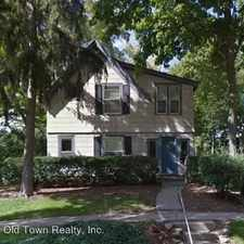 Rental info for 1825 Hill St in the Ann Arbor area