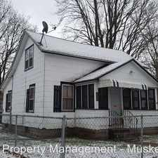 Rental info for 1140 Holt St in the Muskegon area