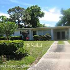 Rental info for 815 Woodland Drive in the Pensacola area