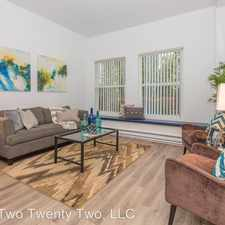Rental info for 2222 Spring Garden St in the Marshall Park area
