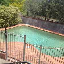 Rental info for GREAT SIZE FAMILY HOME WITH INGROUND POOL ... in the Sydney area