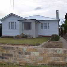 Rental info for Character Filled Cottage in the Wollongong area