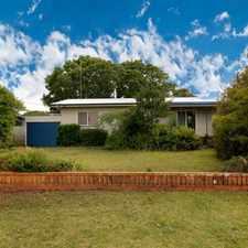 Rental info for RENT REDUCED - Renovated Rangeville Home in the Toowoomba area