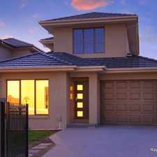 Rental info for FANTASTIC TOWNHOUSE ACROSS THE ROAD TO BUNDOORA SHOPS
