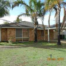 Rental info for Great Family home in central Warnbro ... in the Perth area