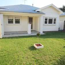 Rental info for Low Maintenance Cosy Home Packed with Features in the Geelong West area