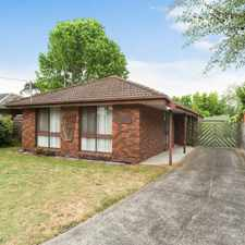 Rental info for Fantastic family home with Brand New Carpet! in the Frankston North area