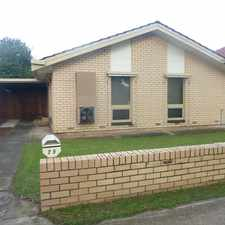 Rental info for 3 bedroom home with large powered garage in quiet location in the Royal Park area