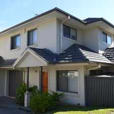 Rental info for Prime Position! in the Hornsby area