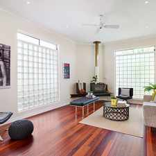 Rental info for Architecturally-designed entertainer in prized locale in the Sydney area