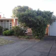 Rental info for Available now! in the Clovelly Park area