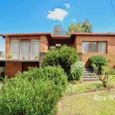 Rental info for Under Application! in the Wantirna South area