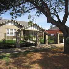 Rental info for Charming Character Bungalow in the Adelaide area