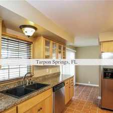 Rental info for $1,525/mo, 3 bedrooms, Tarpon Springs - come and see this one. in the Tarpon Springs area