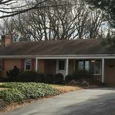 Rental info for Privately located all brick rancher withgarage. Parking Available!