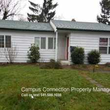 Rental info for 2673 Kincaid in the Eugene area