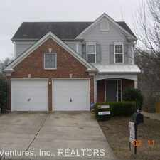 Rental info for 1718 Eagle Trace Dr