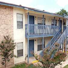 Rental info for Airy & light two bedroom with private balcony (storage closet), ceiling fans, tile flooring. Close to schools, bus, and park. Call 210- 492-5166 to make an appointment to see this unit! in the Woodlawn Lake area
