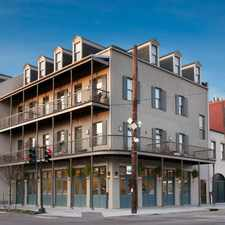 Rental info for Aloysius Apartments in the New Orleans area