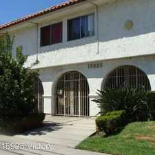 Rental info for 15925 Victory Blvd. APT 102 in the Lake Balboa area