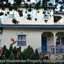 Rental info for 1376 Reed Ave