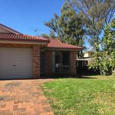 Rental info for AVAILABLE NOW in the Rooty Hill area