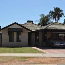 Rental info for PRICE CHANGE, AND ONE WEEKS FREE RENT OFFERED! EASY LIVING IN WONTHELLA!