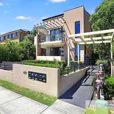 Rental info for IMMACULATE 2 BEDROOM UNIT in the Sydney area