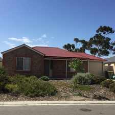 Rental info for Neat & Tidy 3 Bedroom Home in Quite Court in the Murray Bridge area