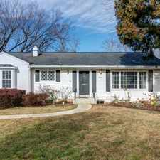 Rental info for 7016 Westbury Road in the McLean area