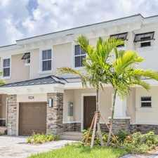 Rental info for Reserve at Coral Springs
