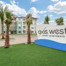 Rental info for Axis West in the Orlando area