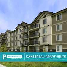 Rental info for Dansereau Apartments