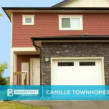 Rental info for Camille Townhomes