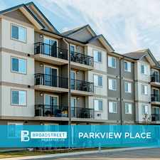 Rental info for Parkview Place in the Cold Lake area