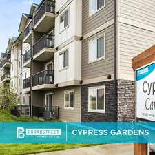 Rental info for Cypress Gardens in the Saskatoon area