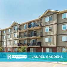 Rental info for Laurel Gardens
