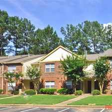 Rental info for Lakes at Windward in the Roswell area
